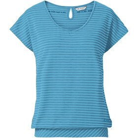 VAUDE Skomer II T-paita Naiset, crystal blue